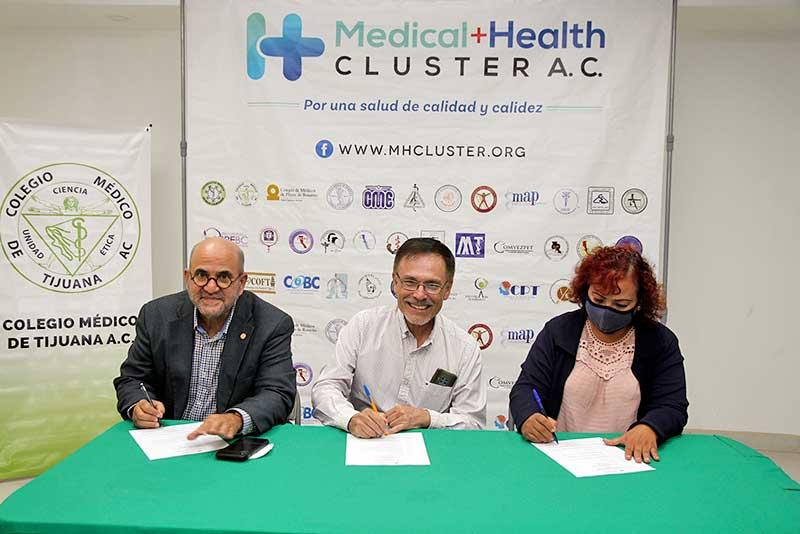 PRESENTA CLÚSTER MÉDICO PROPUESTAS EDUCATIVAS PARA MEJORAR LA ATENCIÓN Y CALIDAD DE LOS SERVICIOS DE SALUD.